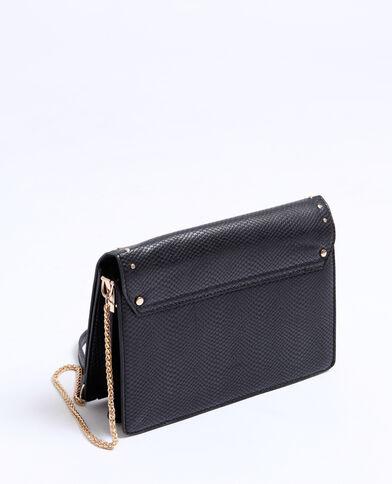 Petit sac clouté noir