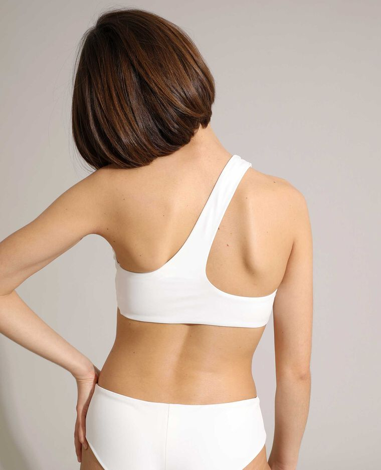 Bas de maillot de bain culotte hipster blanc - Pimkie