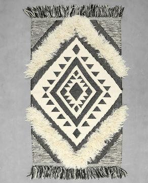 Tapis style berbère gris