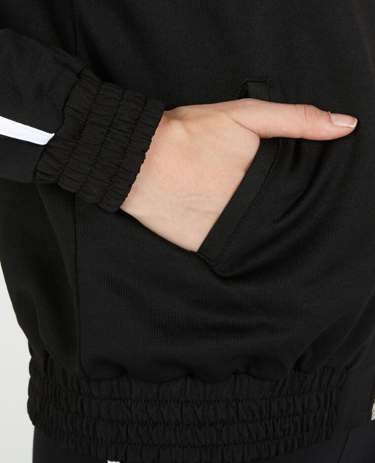 Veste de sport noir