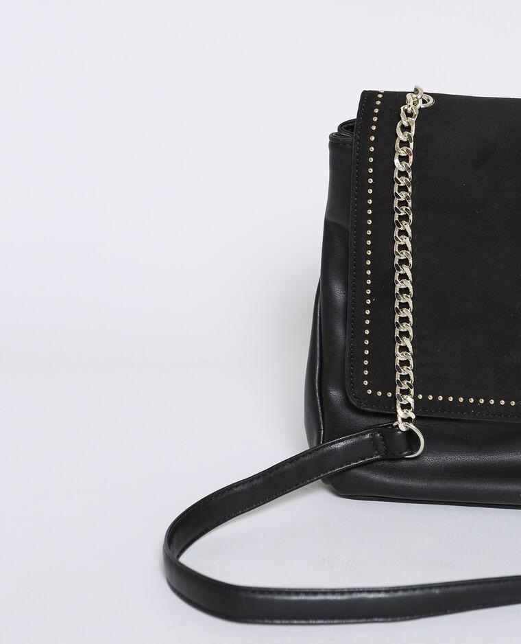 Grand sac pochette noir