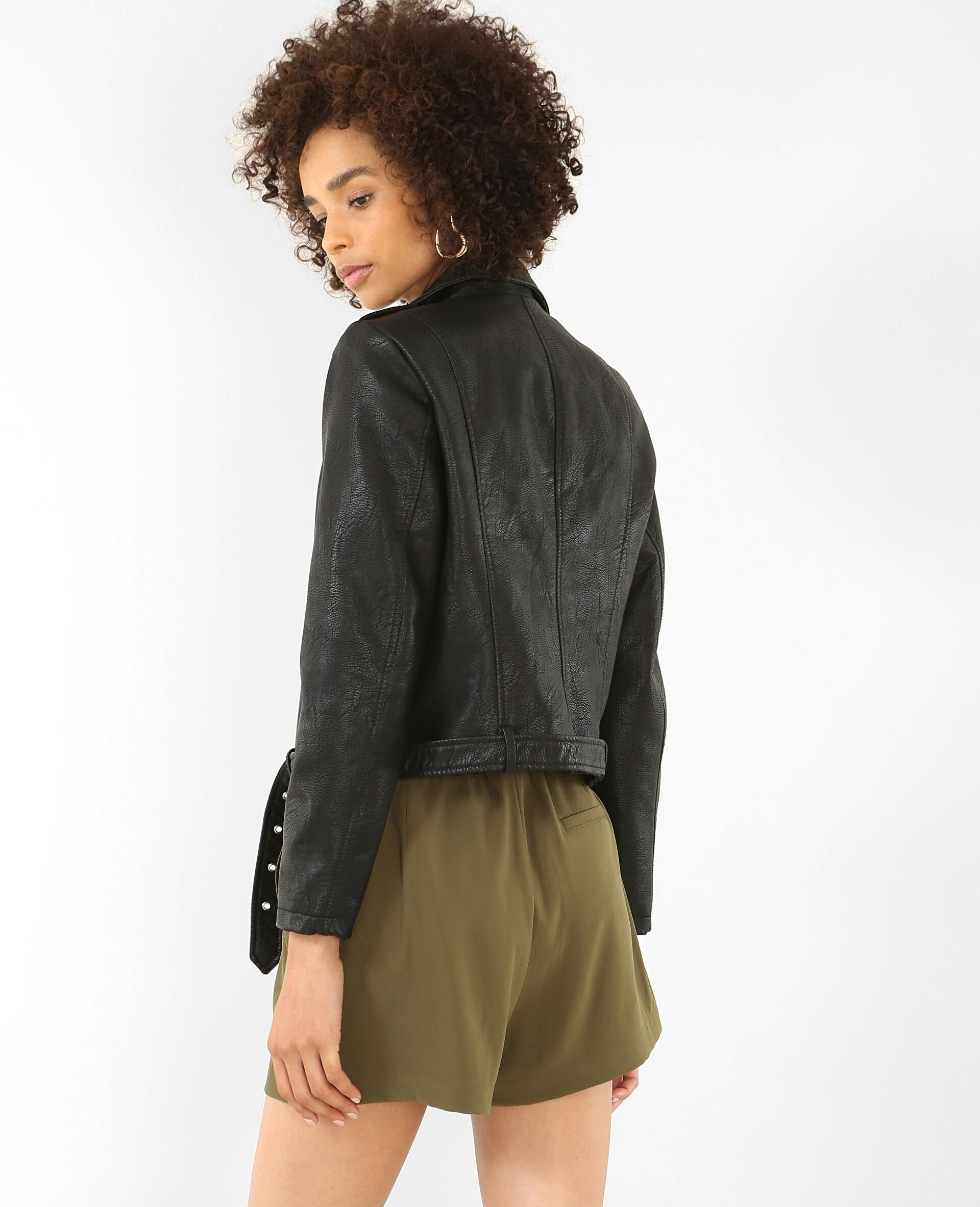 Veste faux cuir femme pimkie