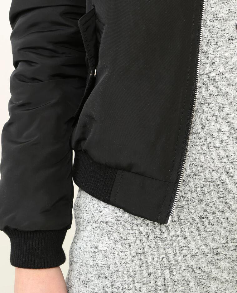 Bomber patchs noir