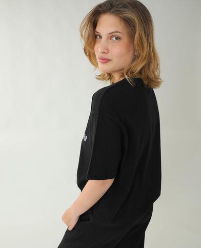 T-shirt ample noir - Pimkie