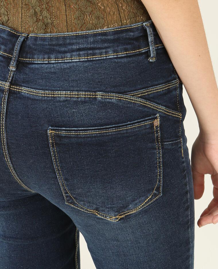 Jean skinny push up bleu brut