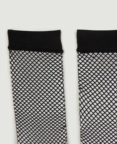 Lot de 2 paires de chaussettes basses résille noir - Pimkie