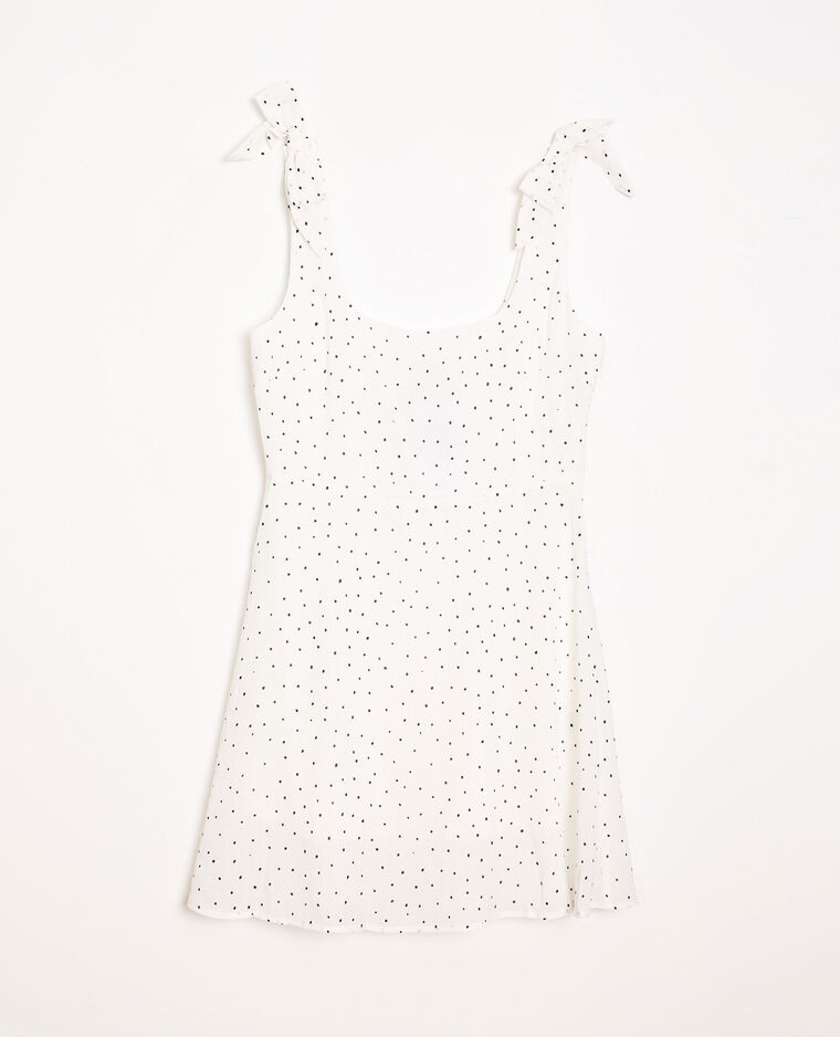 Robe à imprimé blanc - Pimkie