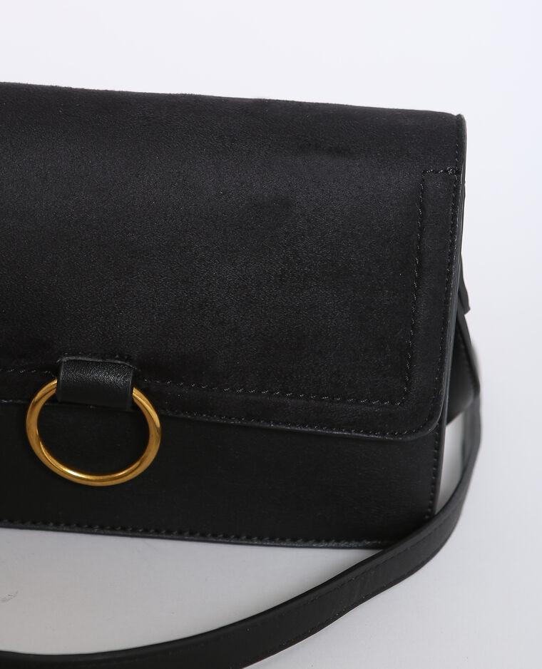 Petit sac bimatière noir