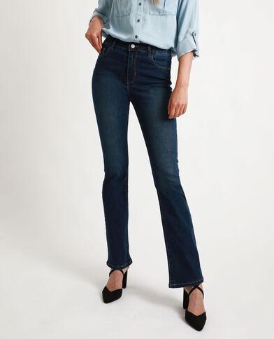 Jean bootcut bleu brut