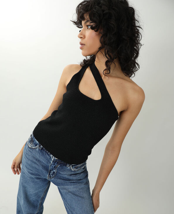 Top one shoulder noir - Pimkie