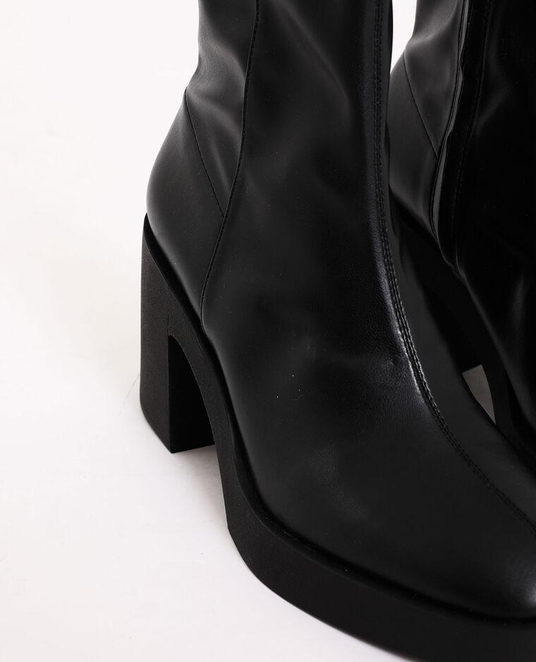 Bottines à plateforme noir