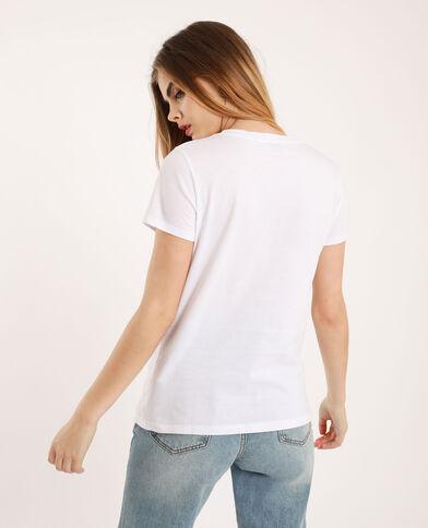 T-shirt Girls support girls écru