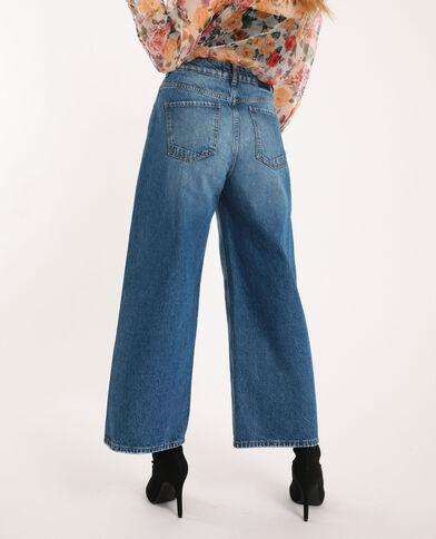 Jean wide leg bleu brut