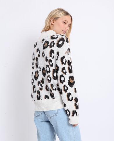 Pull léopard beige - Pimkie