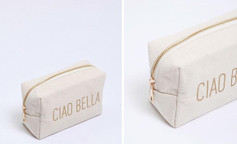 Trousse Ciao bella blanc