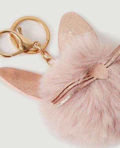 Porte-clé chat rose - Pimkie