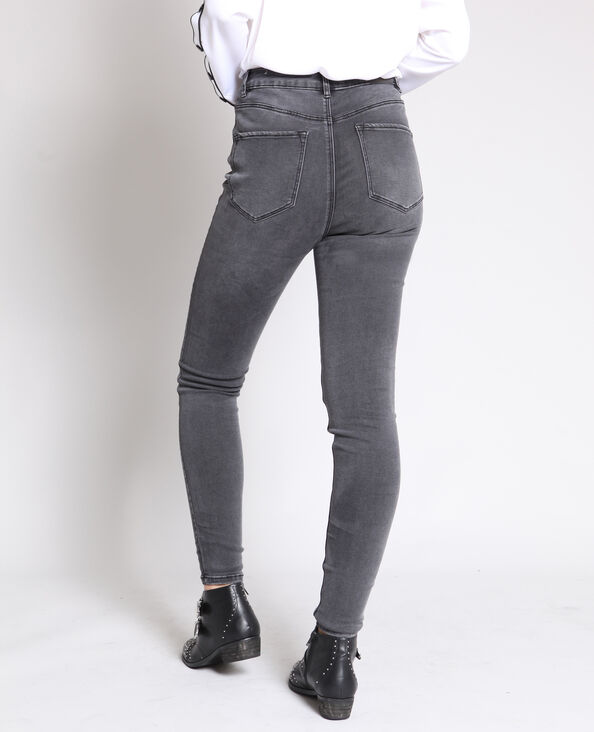 287a233a1c8a Jean skinny taille haute gris