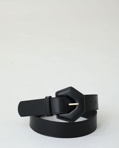 Ceinture simili cuir noir - Pimkie