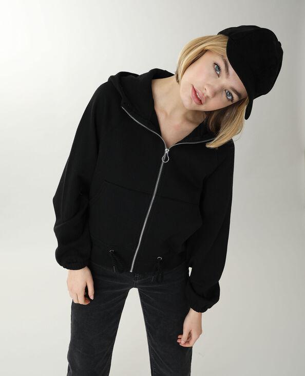 Veste à capuche noir - Pimkie