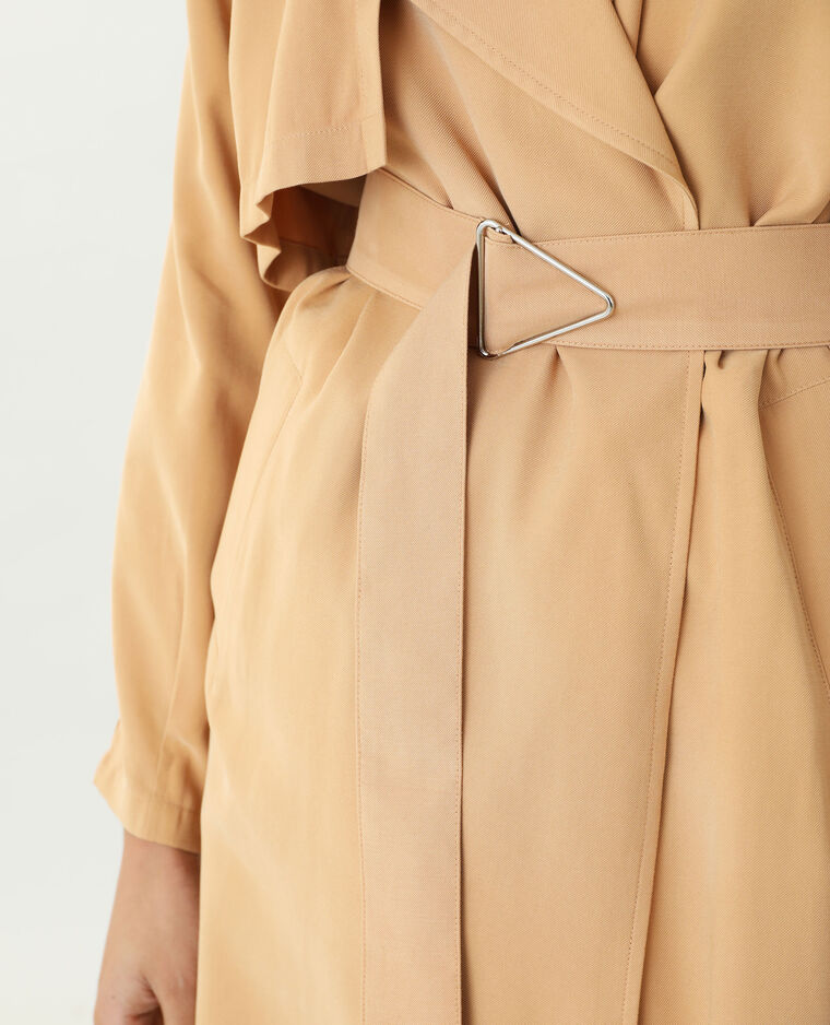 Trench long camel - Pimkie