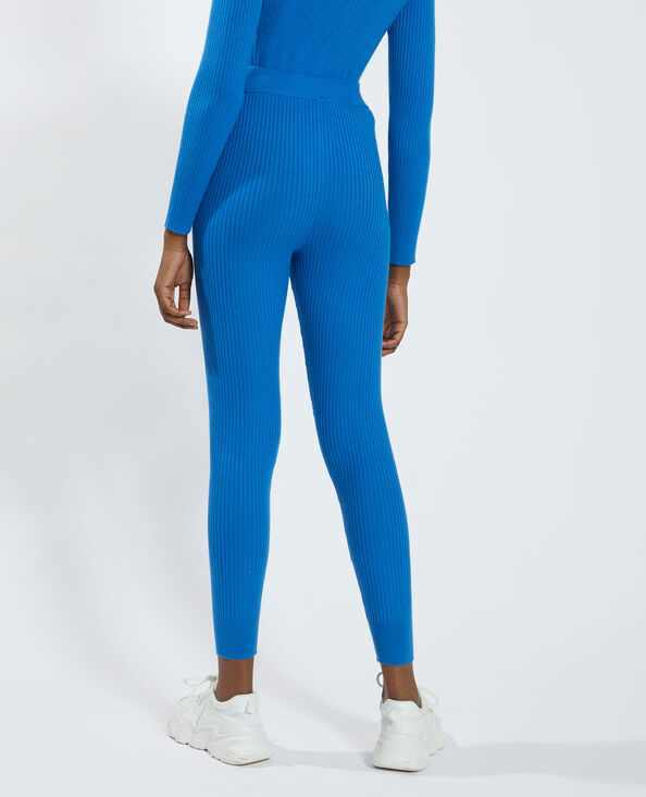 Pantalon côtelé Bleu - Pimkie