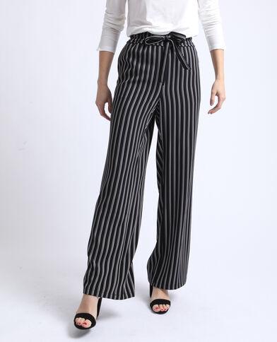 Pantalon large noir 9d045111625