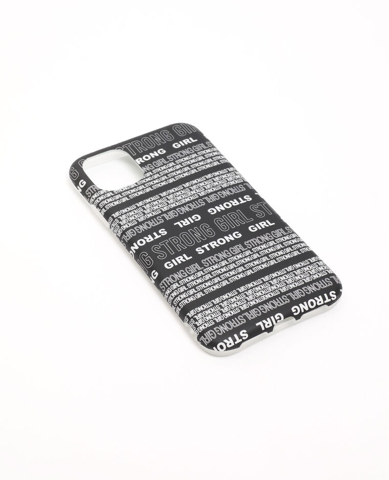 Coque iPhone XR/11 noir - Pimkie
