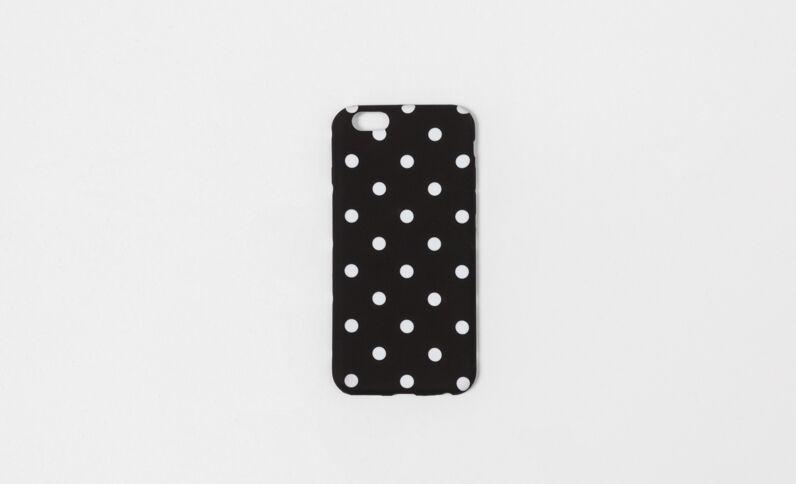 Coque souple compatible iPhone 6/6S noir