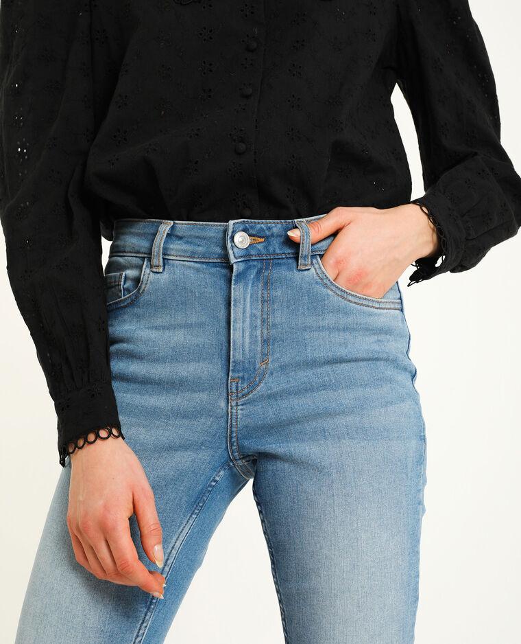 Skinny mid waist bleu denim - Pimkie