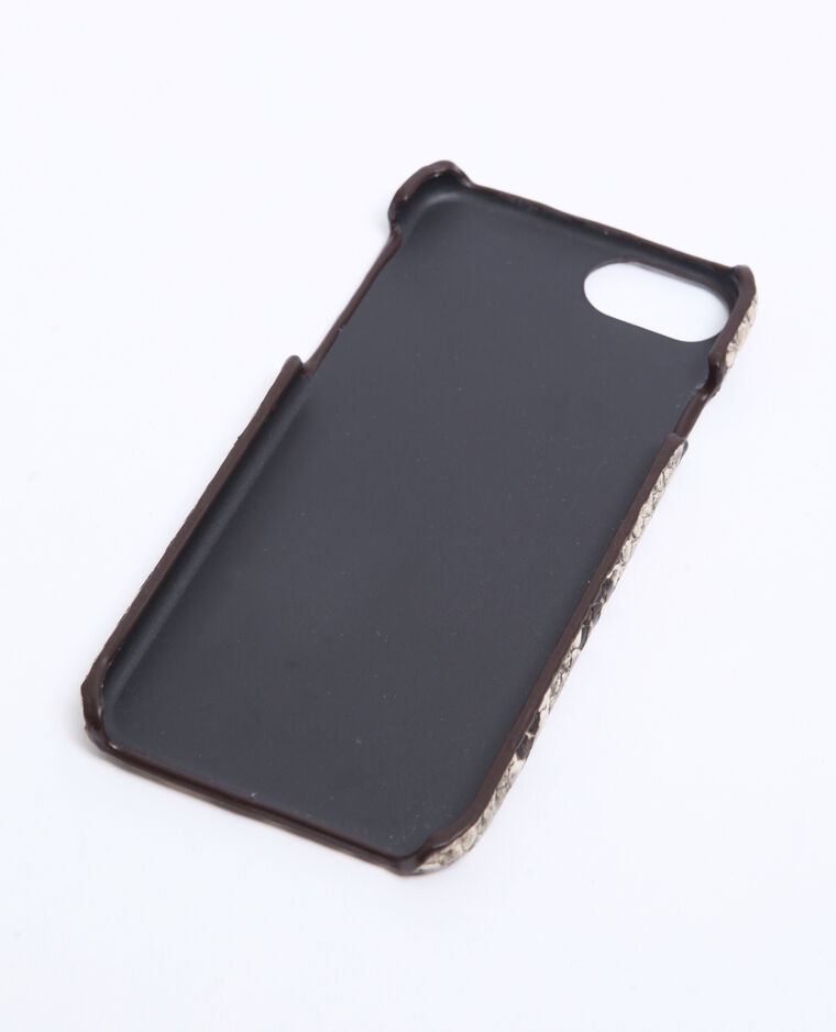 Coque compatible iPhone beige