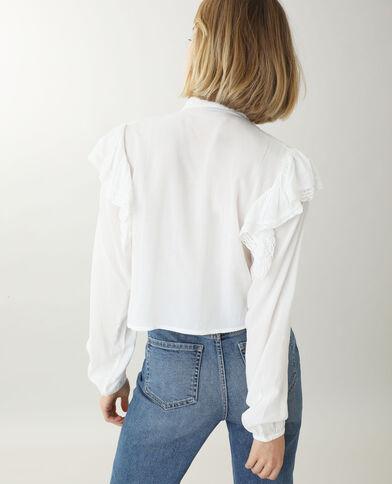 Tunique courte blanc cassé - Pimkie