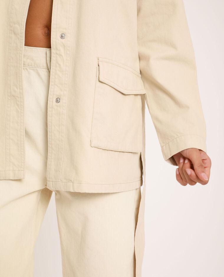 Veste saharienne blanc cassé - Pimkie