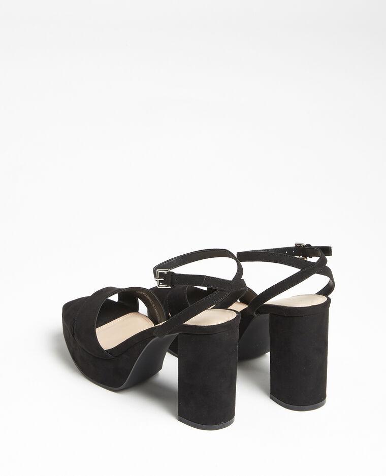 Sandales plateforme noir - Pimkie