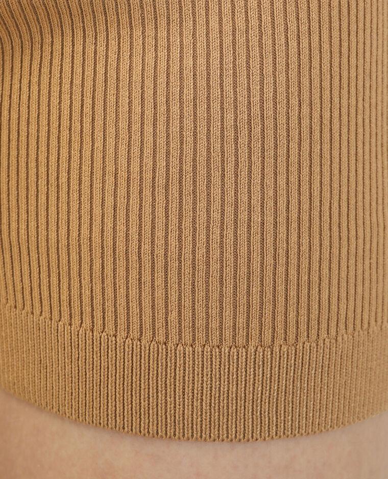 Cycliste tricot beige sable - Pimkie