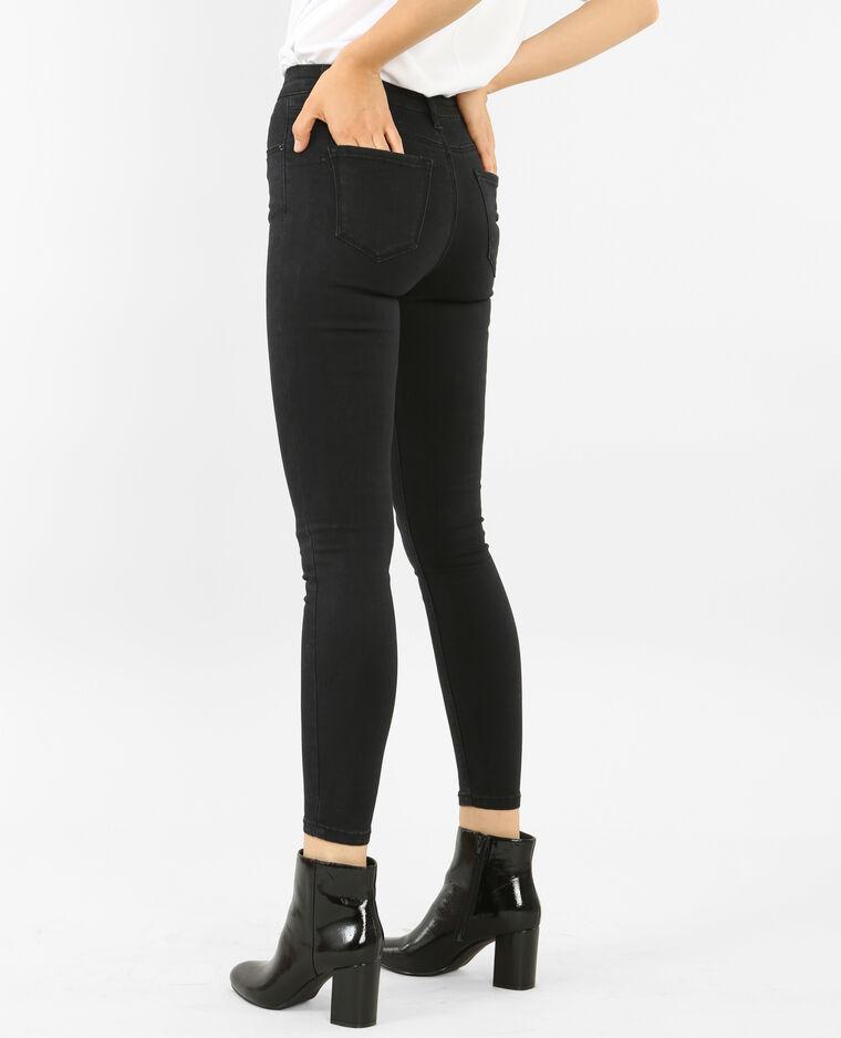 474b751509237 Jean skinny taille haute noir - 140361899A08   Pimkie