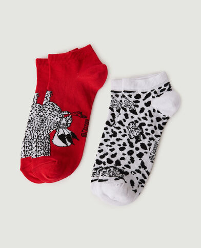 Lot de 2 paires de chaussettes Cruella blanc - Pimkie