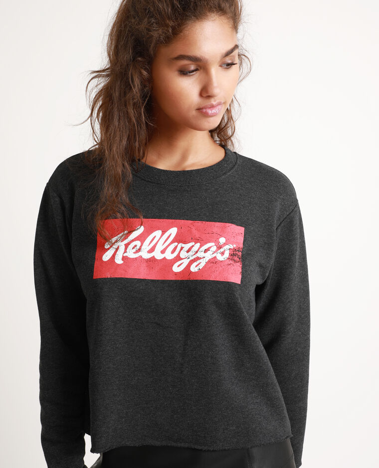 Sweat Kellogg's gris anthracite