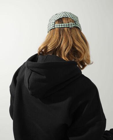 Casquette Vichy vert - Pimkie
