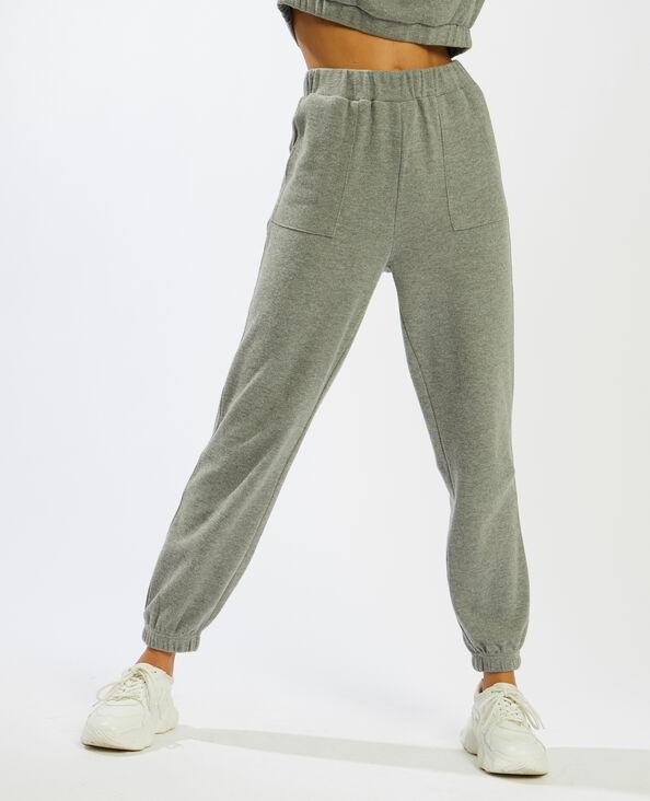 Pantalon de jogging gris - Pimkie