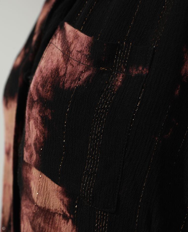 Chemise tie and dye marron - Pimkie