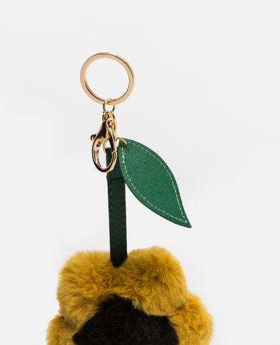 Porte-clés tournesol jaune