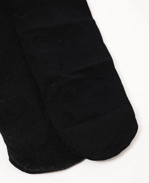 Lot de 2 paires de chaussettes en voile noir
