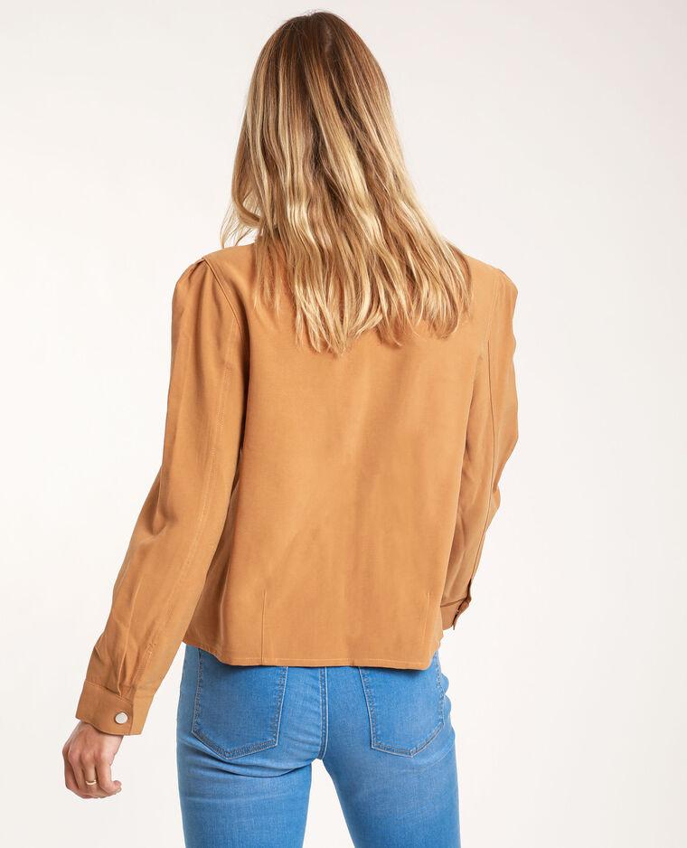 Chemise droite camel - Pimkie