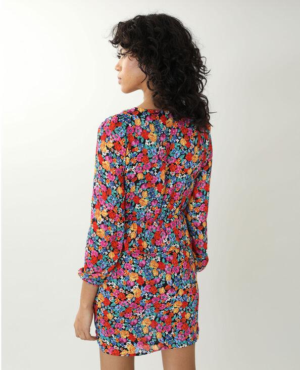 Robe fleurie noir - Pimkie