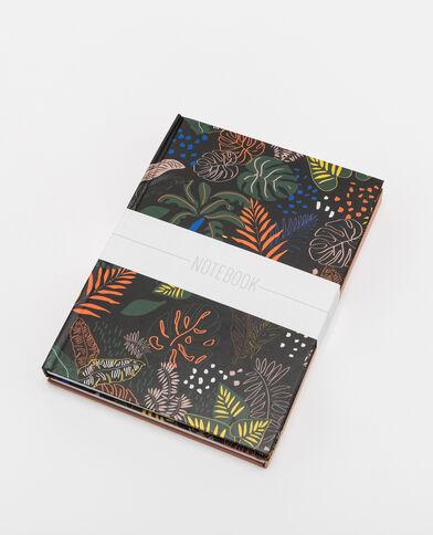 Lot de 2 notebooks Beige