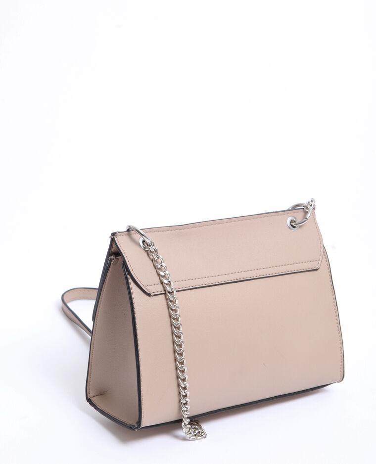 Petit sac boxy beige