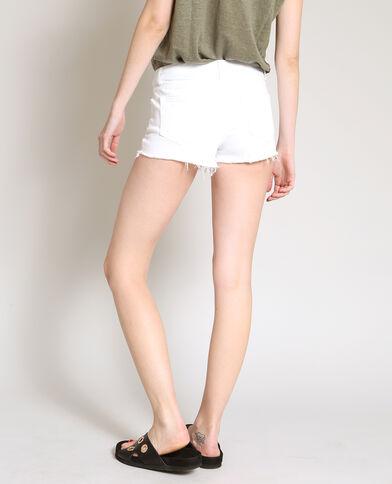 Short court blanc