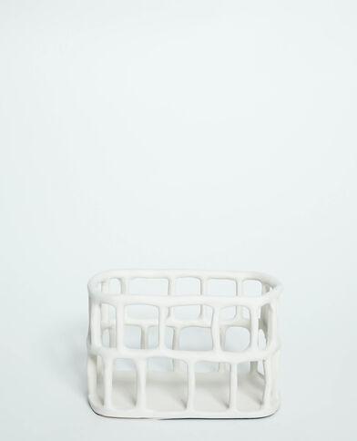 Cagette de rangement blanc - Pimkie