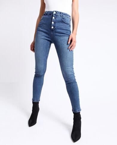 Jean skinny taille haute bleu 99f38ab7ca9f