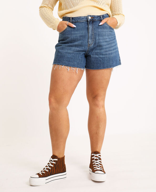 Short mom bleu denim - Pimkie